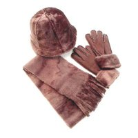Glove: PolyesterScarf/Hat: Main- Acrylic / Lining- Polyester