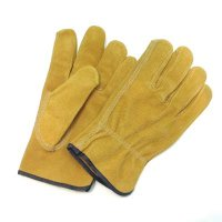 Split Pig Leather Drivers Glove