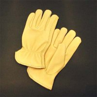 Cow Grain Leather Drivers Glove
